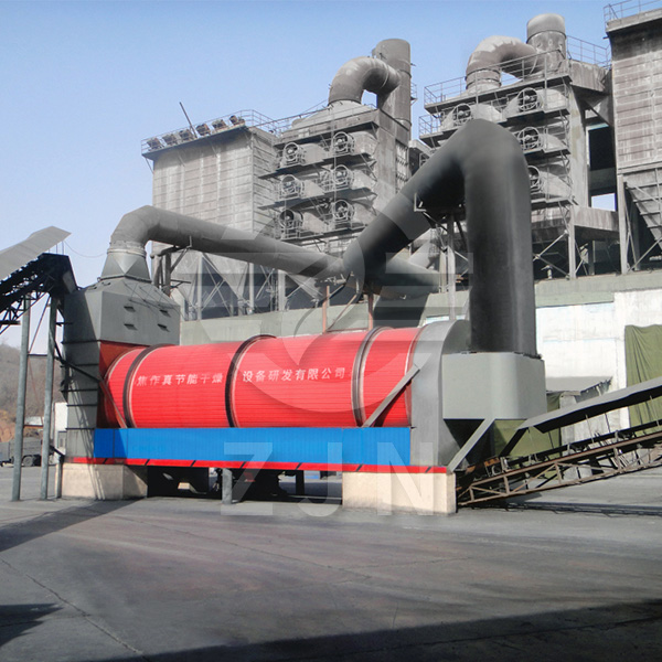 Dryer for mining, metallurgy and chemical industry