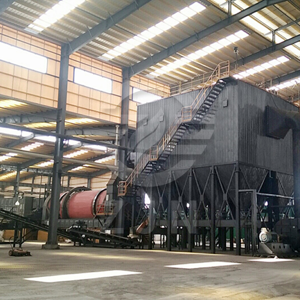 Solid wastes dryer