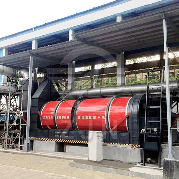 Waste heat utilization dryer